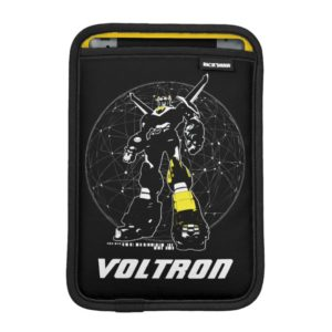 Voltron | Silhouette Over Map iPad Mini Sleeve