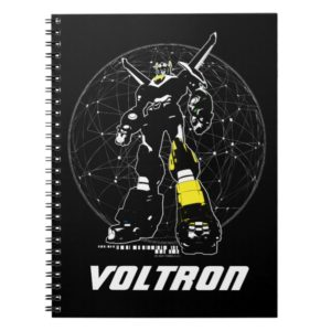 Voltron | Silhouette Over Map Notebook