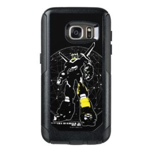 Voltron | Silhouette Over Map OtterBox Samsung Galaxy S7 Case