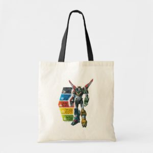 Voltron | Voltron And Pilots Graphic Tote Bag