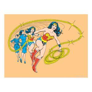 Wonder Woman Transform Postcard