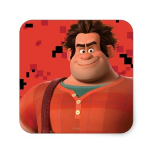 Wreck-It Ralph 3 Square Sticker