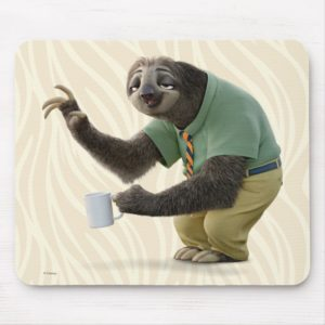 Zootopia   A Working Sloth Mouse Pad