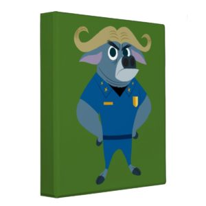 Zootopia | Chief Bogo Binder