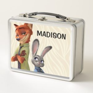 Zootopia | Judy & Nick Best Buddies Metal Lunch Box
