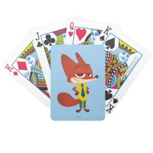 Zootopia | Nick Wilde - The Sly Fox Bicycle Playing Cards