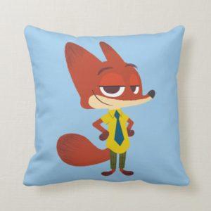 Zootopia | Nick Wilde - The Sly Fox Throw Pillow