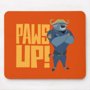 Zootopia | Paws Up! Mouse Pad