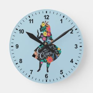 Alice | Curiouser and Curiouser Round Clock