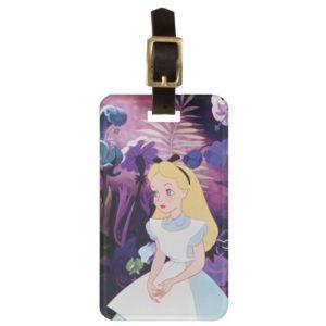 Alice in Wonderland Garden Flowers Film Still Bag Tag