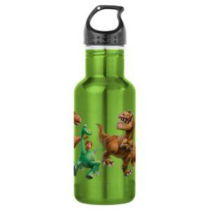 Arlo, Spot, and Ranchers In Field Water Bottle