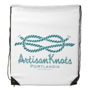 Artisan Knots Drawstring Bag