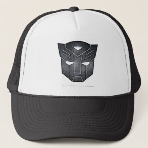 Autobot Shield Metal Trucker Hat