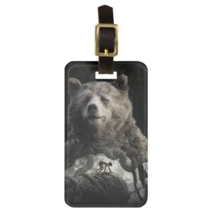 Baloo & Mowgli | The Jungle Book Luggage Tag