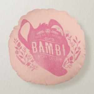 Bambi | Oh Dear Round Pillow