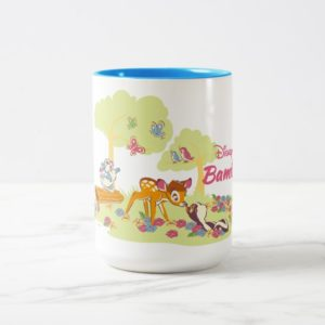 Bambi | Sweet as can be Two-Tone Coffee Mug