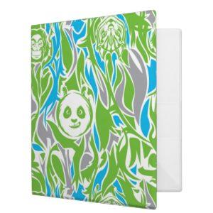 Bamboo Po Pattern Binder