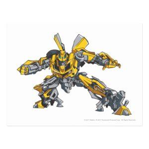 Bumblebee Line Art 3 Postcard
