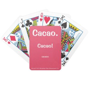 Cacao! Bicycle® Poker Playing Cards