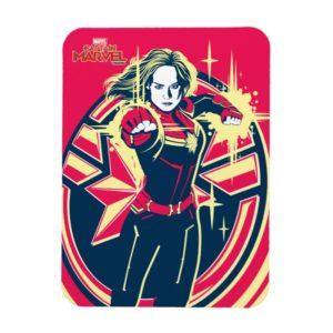 Captain Marvel   Captain Marvel Photon Fists Magnet