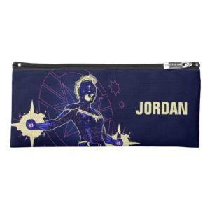 Captain Marvel | Constellation Character Art Pencil Case