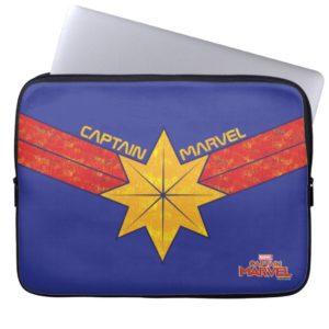 Captain Marvel | Hala Star Symbol Computer Sleeve