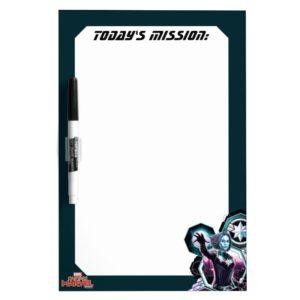 Captain Marvel   Starforce Captain Marvel Graphic Dry Erase Board