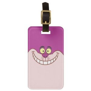 Cheshire Cat Face Luggage Tag