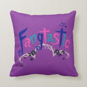 Disney | Vampirina - Vee - Spooky Typography Throw Pillow