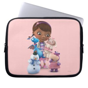 Doc McStuffins and Her Animal Friends Laptop Sleeve