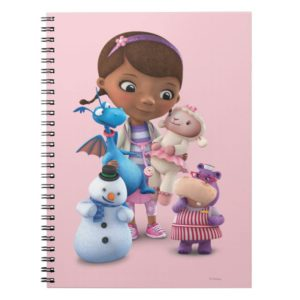 Doc McStuffins and Her Animal Friends Notebook