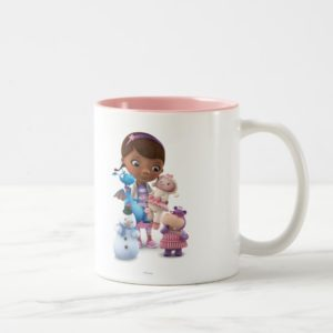 Doc McStuffins and Her Animal Friends Two-Tone Coffee Mug