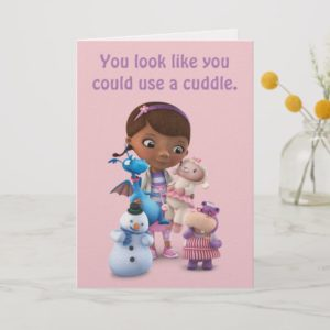 Doc McStuffins & Friends | Get Well Card