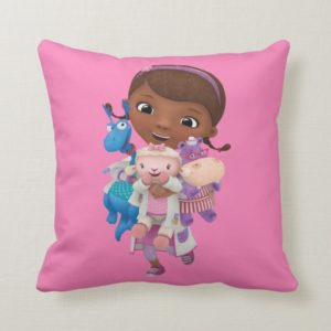 Doc McStuffins | Sharing the Care Throw Pillow