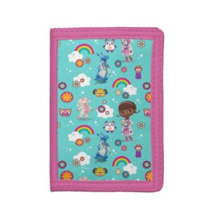 Doc McStuffins | The Care Team Pattern Tri-fold Wallet
