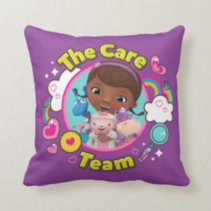 Doc McStuffins | The Care Team Throw Pillow