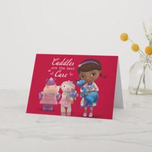 Doc McStuffins Valentine Holiday Card