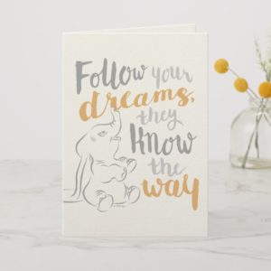 Dumbo | Follow Your Dreams Card