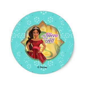 Elena & Isabel | A Hero To Us All Classic Round Sticker