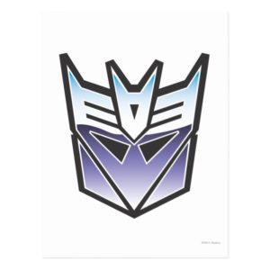 G1 Decepticon Shield Color Postcard