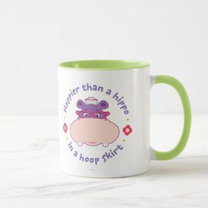 Hallie - Happier Than a Hippo in a Hoop Skirt Mug