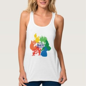 Alice in Wonderland - Character Silhouettes Tank Top