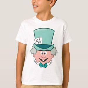 Alice in Wonderland   Mad Hatter Emoji 2 T-Shirt