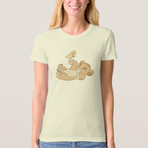 Lion King's Baby Simba Playing Disney T-Shirt