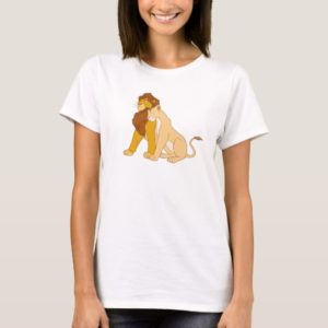 Lion King's Adult Simba and Nala Disney T-Shirt