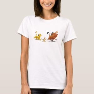 Lion King Simba cub timon pumbaa singing trotting T-Shirt
