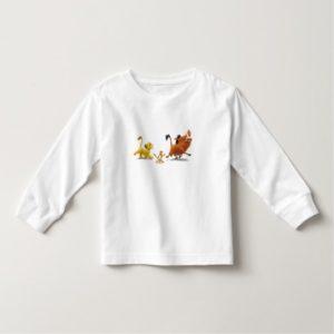 Lion King Simba cub timon pumbaa singing trotting Toddler T-shirt