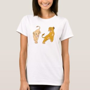 Lion King's Simba and Nala Playing Disney T-Shirt