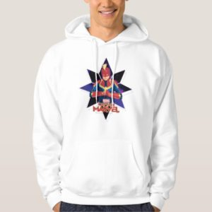 Captain Marvel   Galactic Star Character Graphic Hoodie