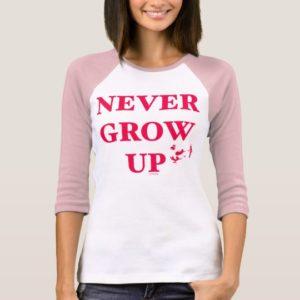 Peter Pan   Never Grow Up T-Shirt
